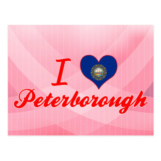 I Love Peterborough New Hampshire Post Cards