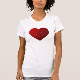 I LOVE PETS PAW HEART 3D T SHIRT