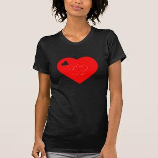I LOVE PETS PAW HEART 3D TEE SHIRT