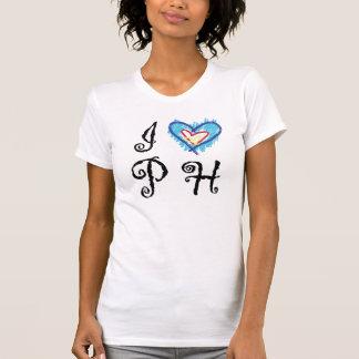 I Love PH Ladies' Casual Scoop Tee Shirts