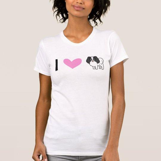 I Love Phalenes / Japanese Chins T-Shirt
