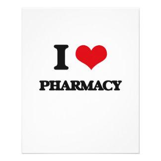 I Love Pharmacy 11.5 Cm X 14 Cm Flyer
