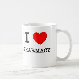 I Love Pharmacy Basic White Mug