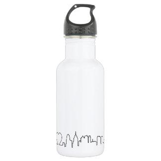 I love Philadelphia in an extraordinary ecg style 532 Ml Water Bottle