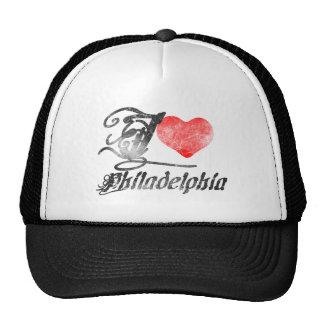 I Love Philadelphia Mesh Hats