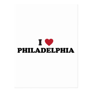 I Love Philadelphia Pennsylvania Postcard