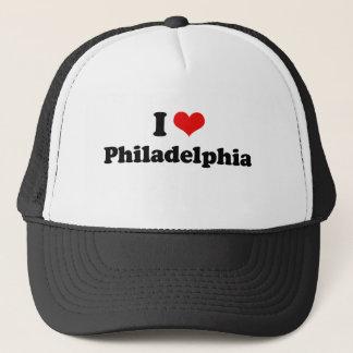 I Love Philadelphia Tshirt Trucker Hat