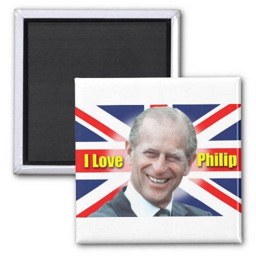 I Love Philip Refrigerator Magnets