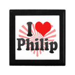 I love Philip Trinket Box