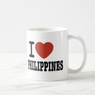 I LOVE PHILIPPINES COFFEE MUG