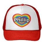 I love Phillip. I love you Phillip. Heart