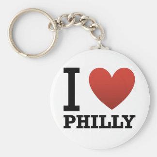 i-love-philly key ring