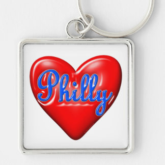 I Love Philly Key Ring