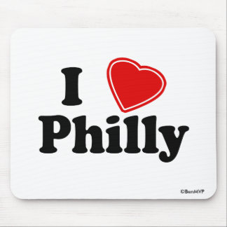I Love Philly Mouse Mat