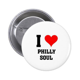 I love Philly Soul 6 Cm Round Badge
