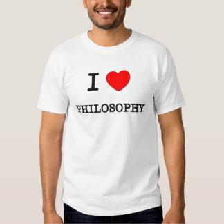 I Love PHILOSOPHY Shirt