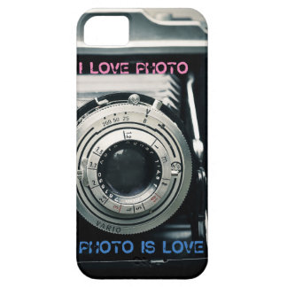 I LOVE PHOTO PHOTO IS LOVE marries Case For The iPhone 5