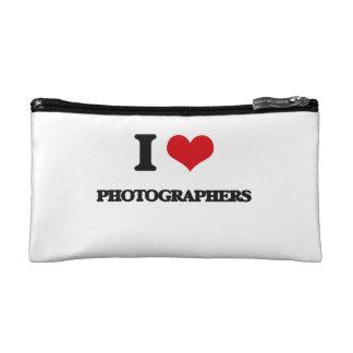 I Love Photographers Cosmetics Bags