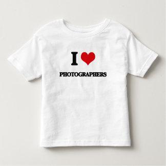 I Love Photographers Shirts