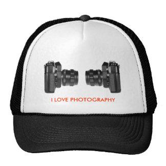 I LOVE PHOTOGRAPHY CAP