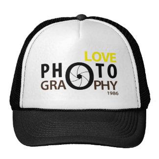 i love photography Hat