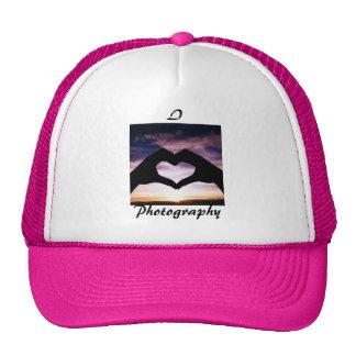 I Love Photography Mesh Hats