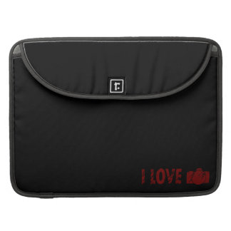 I love Photography Sleeve For MacBook Pro