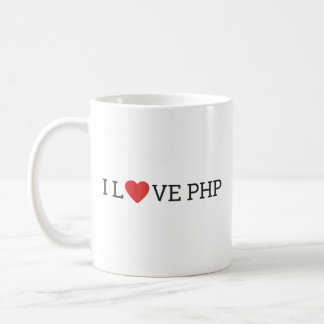 I Love PHP Coffee Mug