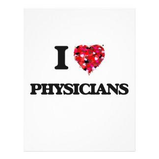 I love Physicians 21.5 Cm X 28 Cm Flyer