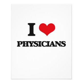 I Love Physicians Flyer Design