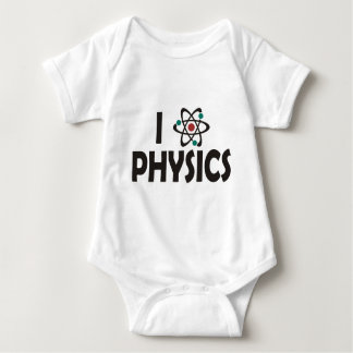 I Love Physics Baby Bodysuit