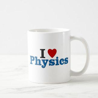 I Love Physics Basic White Mug