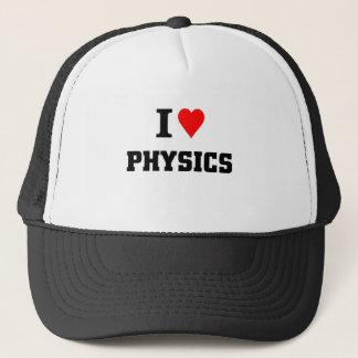 I love physics trucker hat