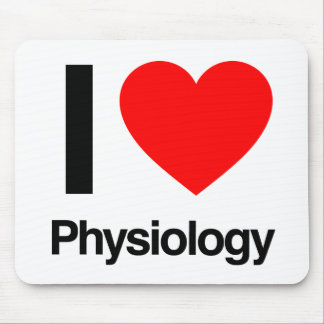 i love physiology mouse mat
