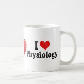 I Love Physiology Coffee Mugs