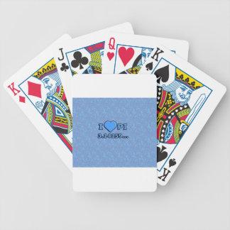 I LOVE PI - BLUE MODEL DECK OF CARDS