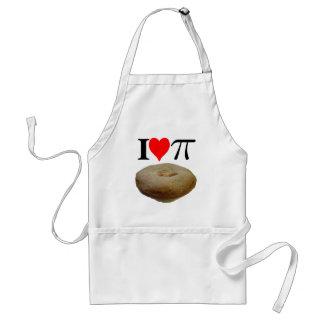 I love pi I love pie I heart pi I heart pie Aprons