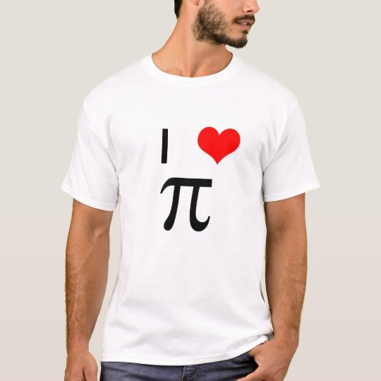 I Love Pi T Shirt