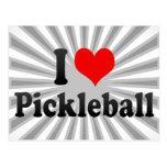 I love Pickleball Postcard
