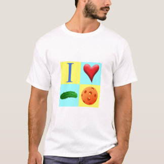 I Love Pickleball T Shirt