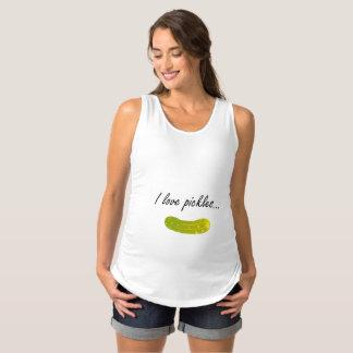 I Love Pickles Maternity Shirt