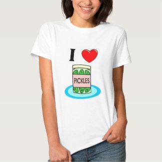 I Love Pickles Tee Shirts
