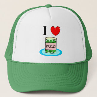 I Love Pickles Trucker Hat