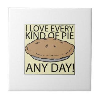 I Love Pie Tile