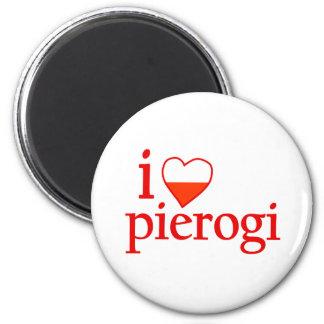 I Love Pierogi Magnets