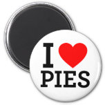 I Love Pies Magnets
