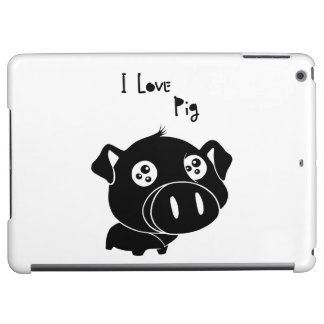I love pig quote cover for iPad air