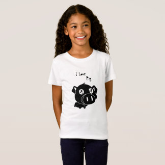 I love pig, quote T-Shirt