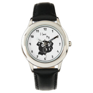 I love pig quote watch
