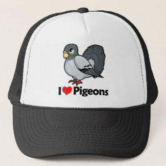 I Love Pigeons Trucker Hat